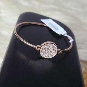 NWT Michael Kors rose gold rhinestone bracelet